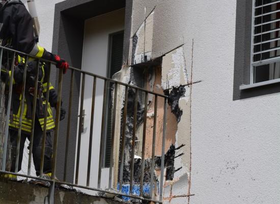 Feuerwehreinsatz in Rhäzüns
