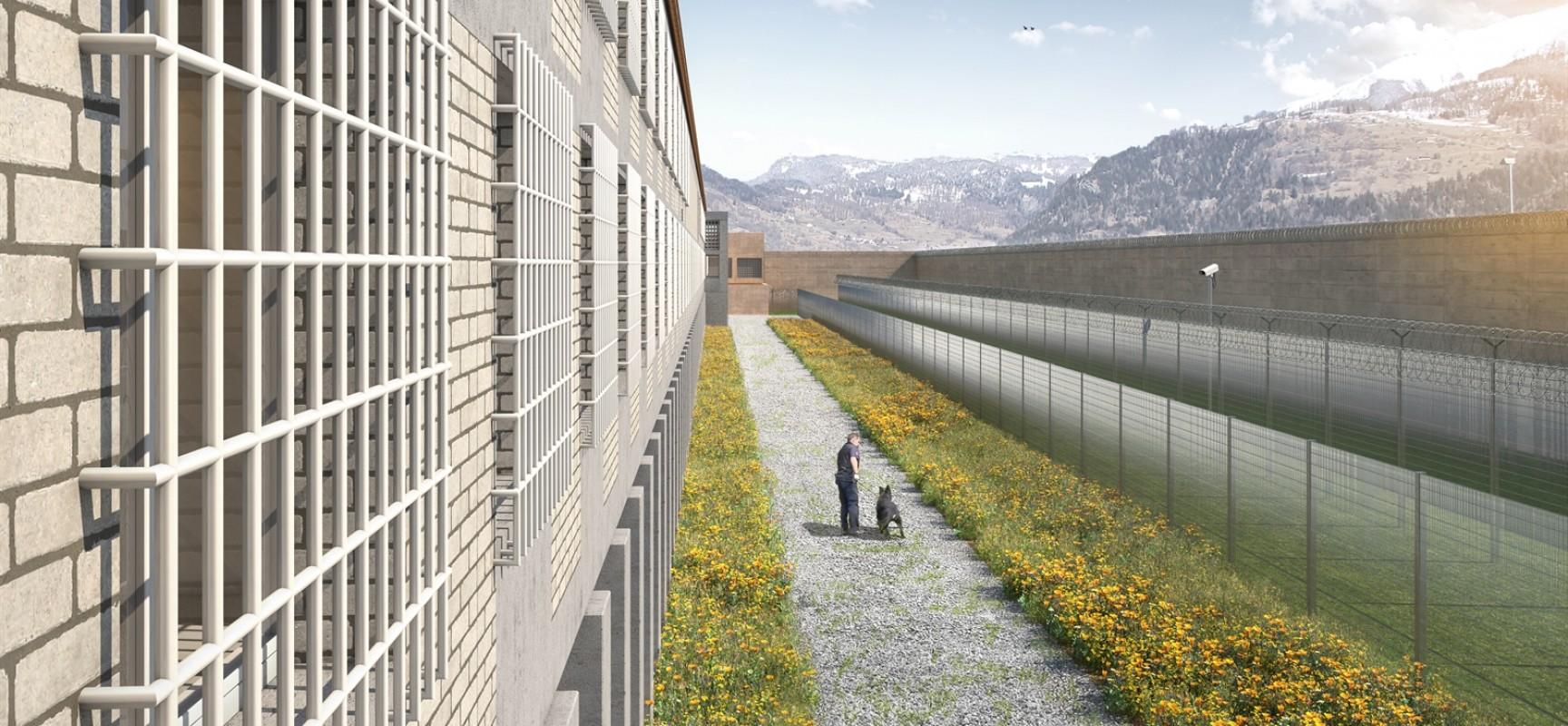119 Millionen Franken für Kriminalität: Neubau geschlossener Justizvollzugsanstalt in Cazis