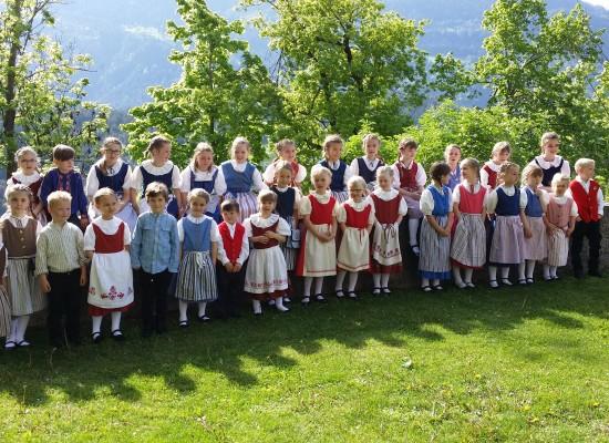 Das Kinderjodelchörli Bonaduz feiert seinen 5.Geburtstag
