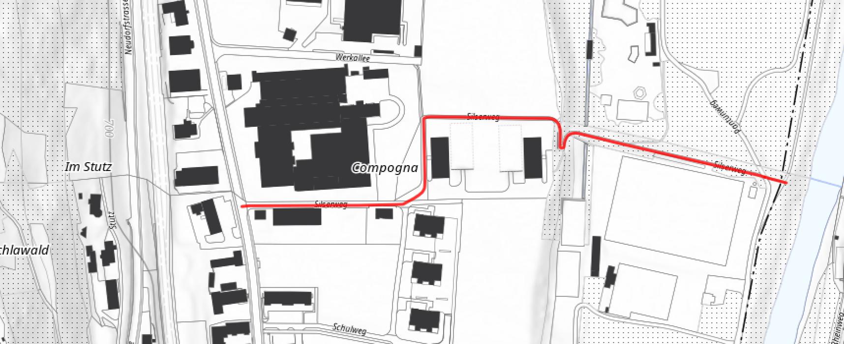 Thusis: Ein neues Mehrfamilienhaus soll gebaut werden
