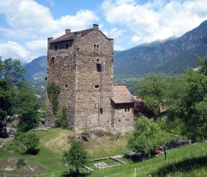 Burgenkunde auf Burg Ehrenfels.