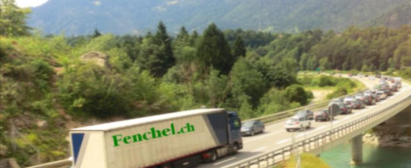 Bonaduz: Verkehrsumleitung A13 wegen Bauarbeiten