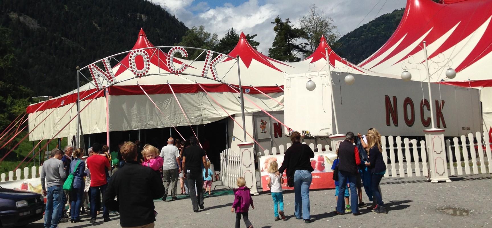 Circus Nock heute in Cazis