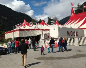 Circus Nock gastiert zum 2. Mal in Cazis.