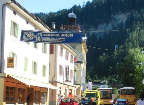 Thusis: Verkehrsanordnung, öffentliche Bekanntmachung