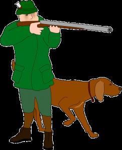 Die Jägersektion führt Schiessübungen durch.
