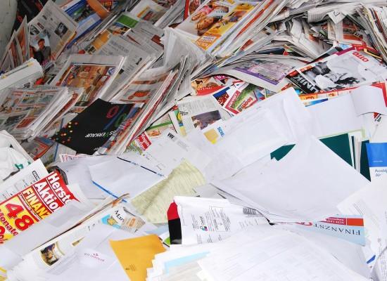 Sils i.D. : Papiersammlung