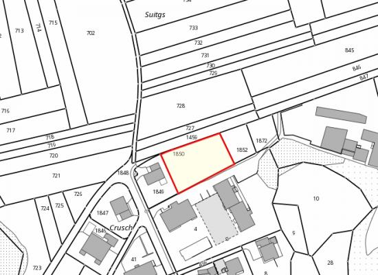 In Rhäzüns soll ein neues Mehrfamilienhaus entstehen