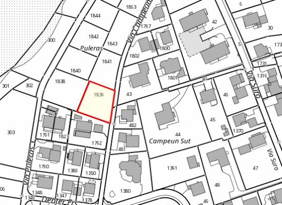 Rhäzüns: Neues Einfamilienhaus soll gebaut werden