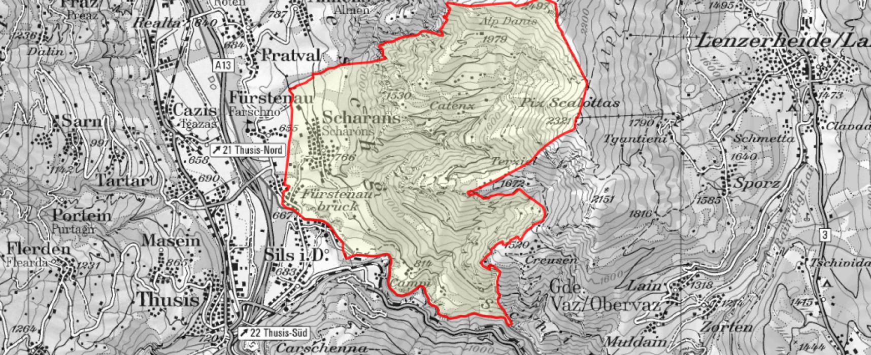 Gemeindeversammlung in Scharans: Ortsplanung, Steuerfuß…