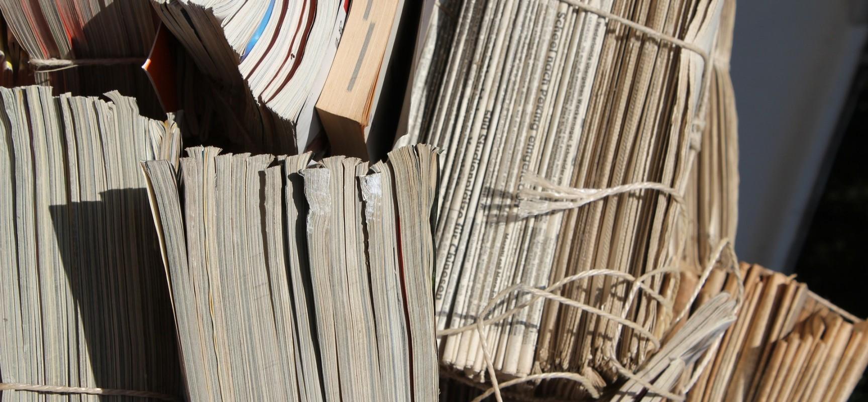 Papiersammlung in Cazis