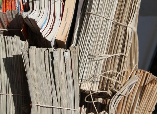 Sils: Papiersammlung