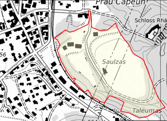 Rhäzüns: Pläne für Quartier Saulzas