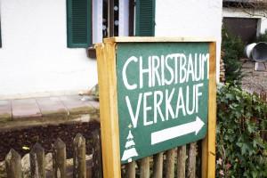 Christbauverkauf in Cazis. (Symbolbild)
