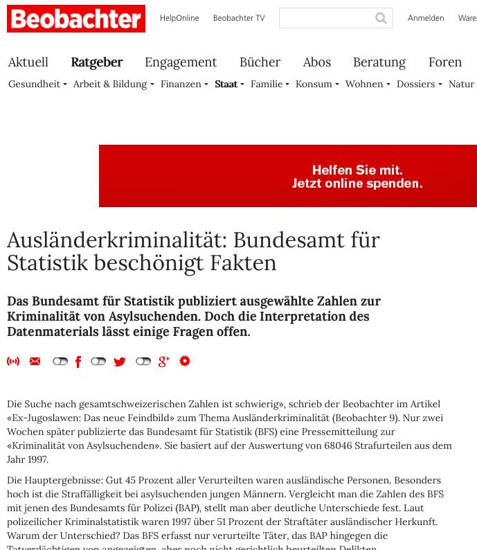 Bildschirmfotoausriß: Beobachter.ch