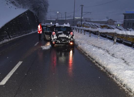 Unfall zwischen Thusis / Cazis: