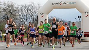 Der Bündner Frühlingslauf. (Bild: www.fruehlingslauf.ch)