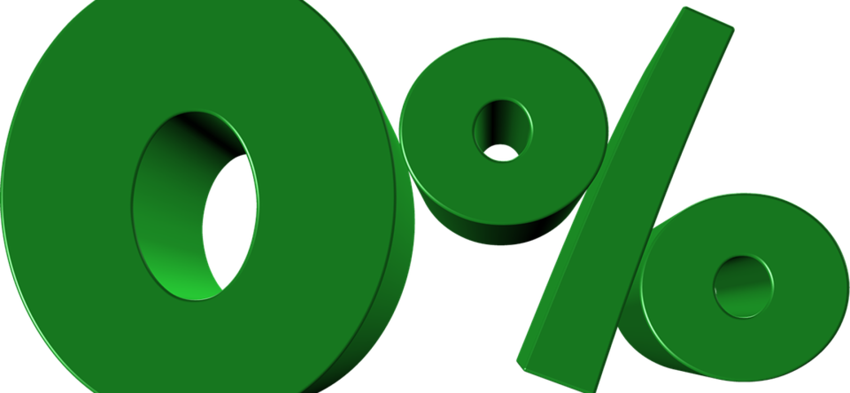 Nullzins-Niveau nützt Konsumenten