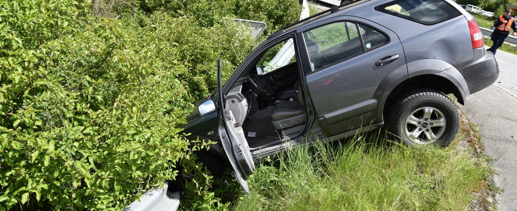 Rothenbrunnen: Unfall auf Kreuzung