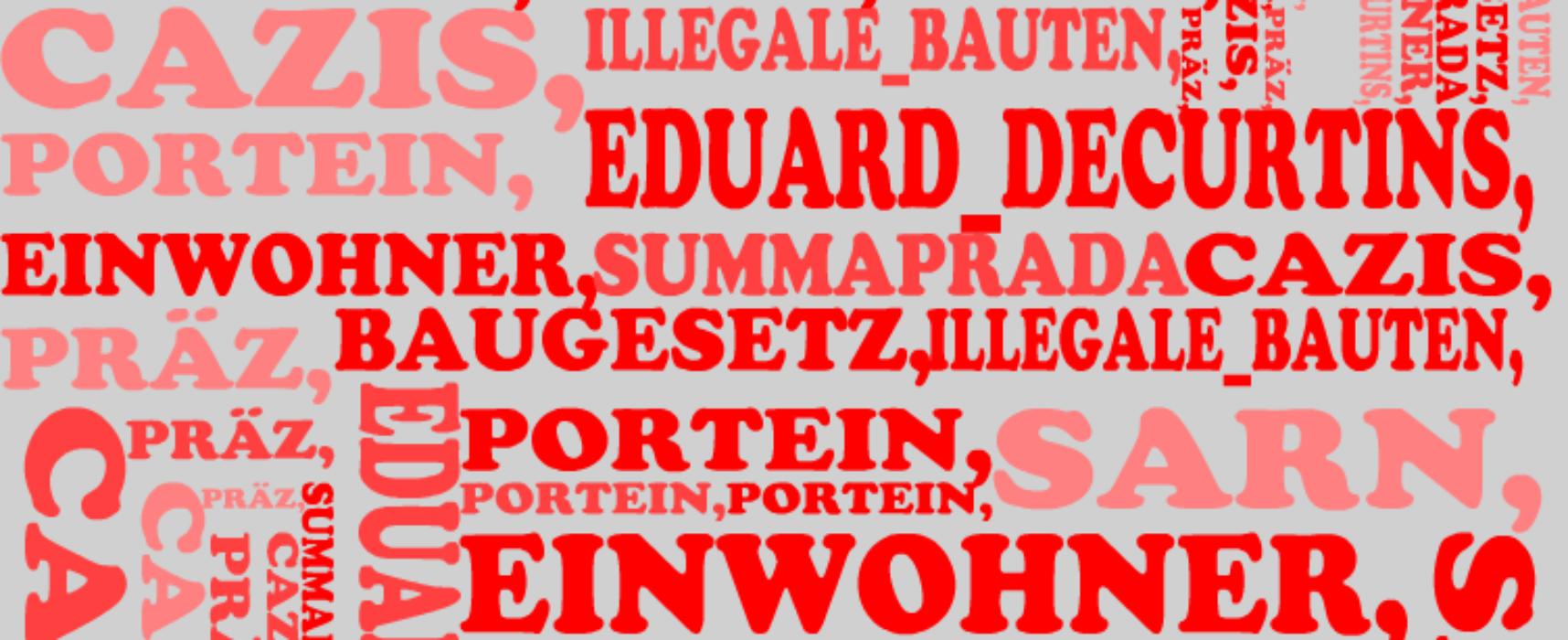 Gemeindepräsident Eduard Decurtins: