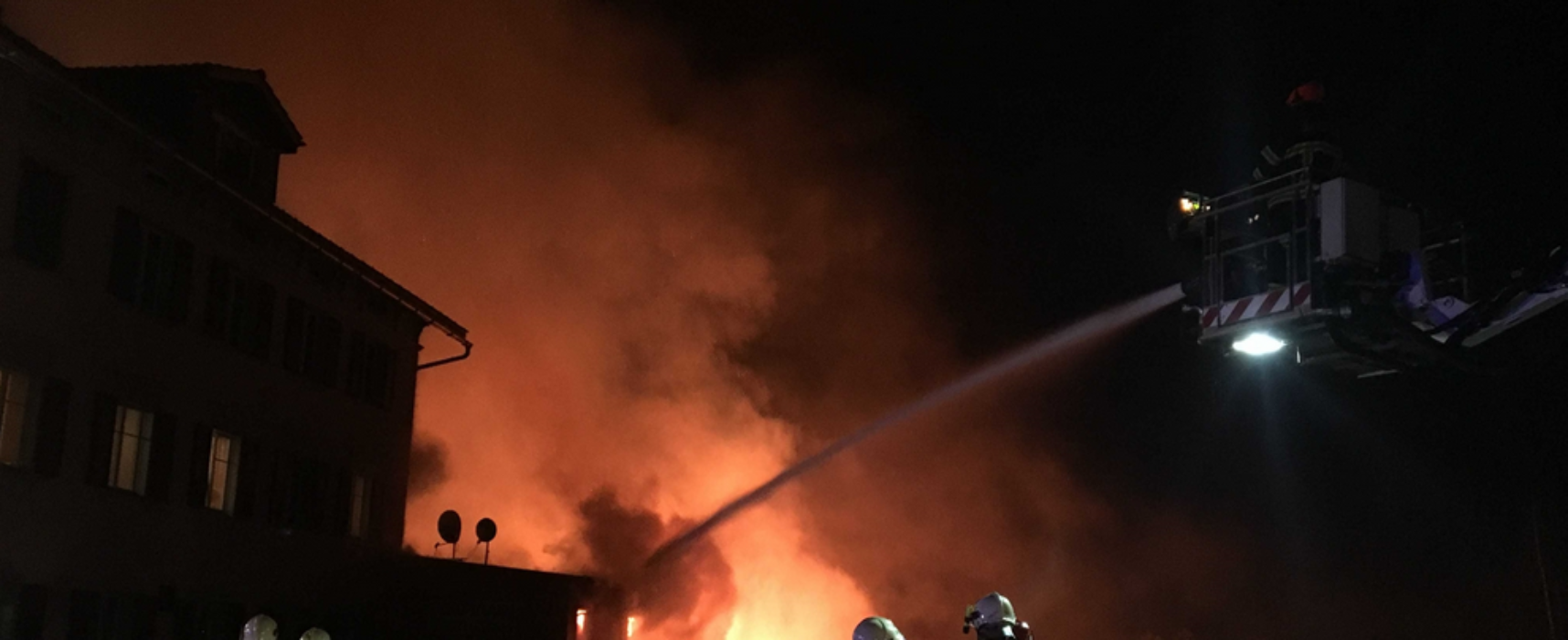 Großbrand in Thusis