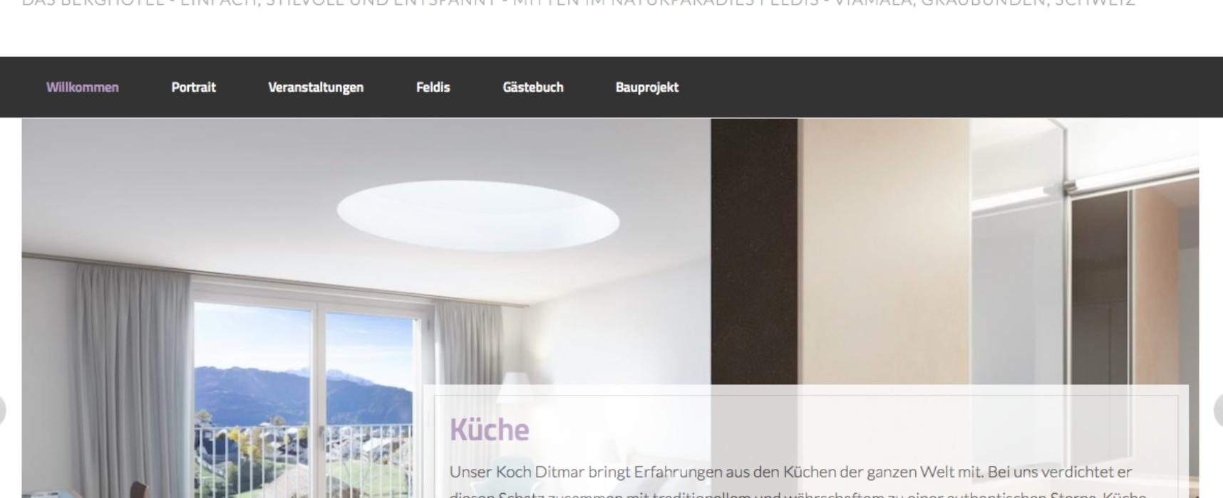Öffentliche Mitwirkungsauflage Gemeinde Domleschg: