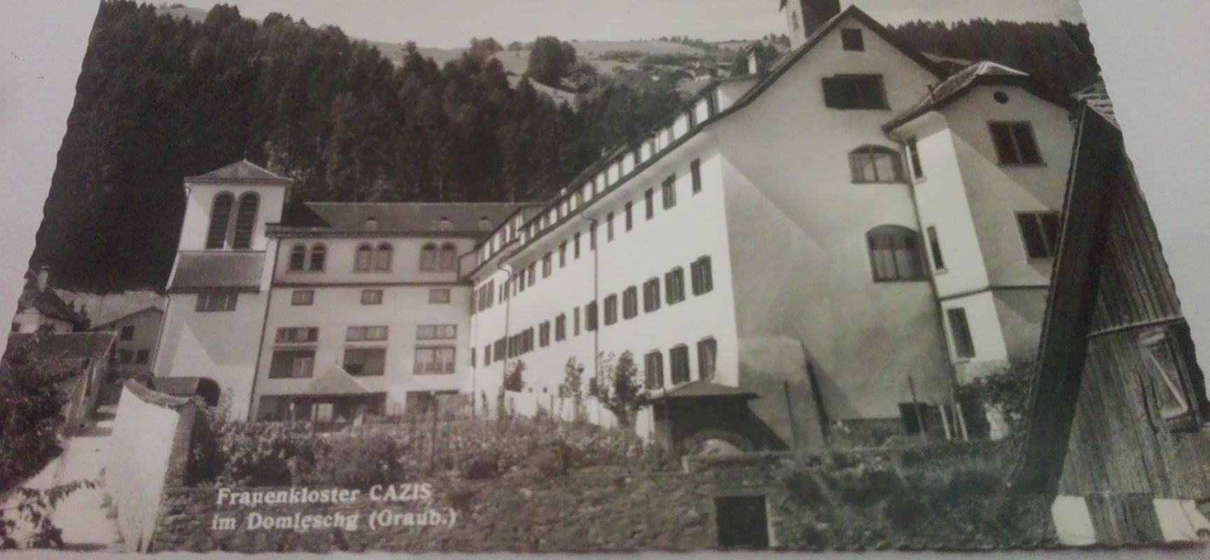 "Karte ""Frauenkloster Cazis im Domleschg"""