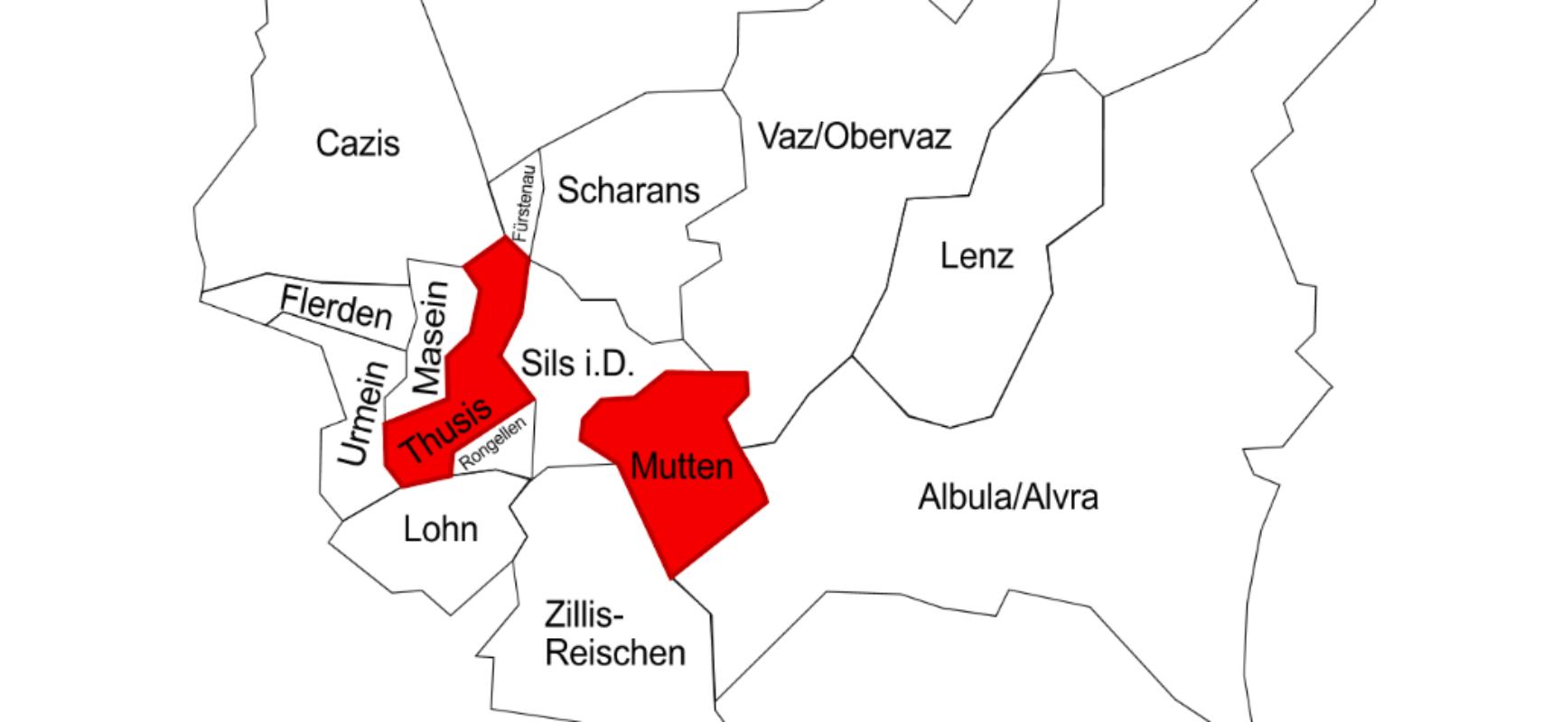 """""""Nein zur Fusion Thusis und Mutten"""""""