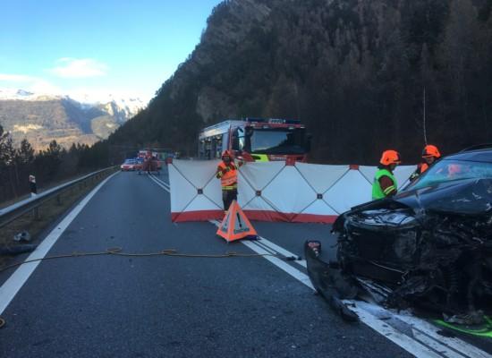 Tödlicher Unfall auf der A13