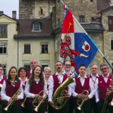 Dorfmusik Rothenbrunnen mit Neujahrsständchen