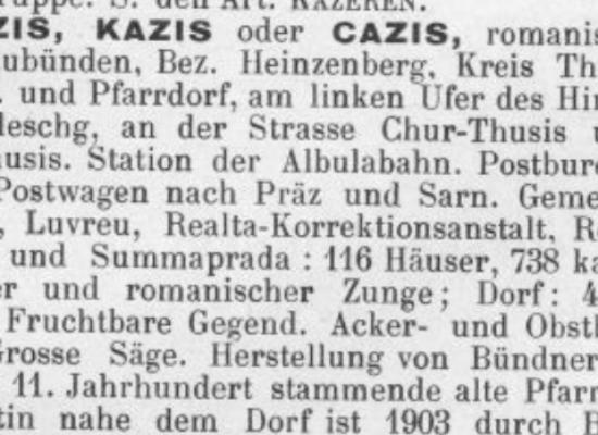 """""""Am linken Ufer des Hinterrhein, im Domleschg"""":"""