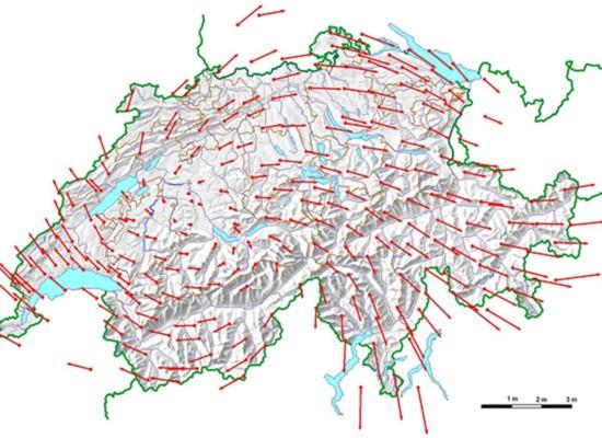 Neue Landesvermessung: Graubünden wird größer