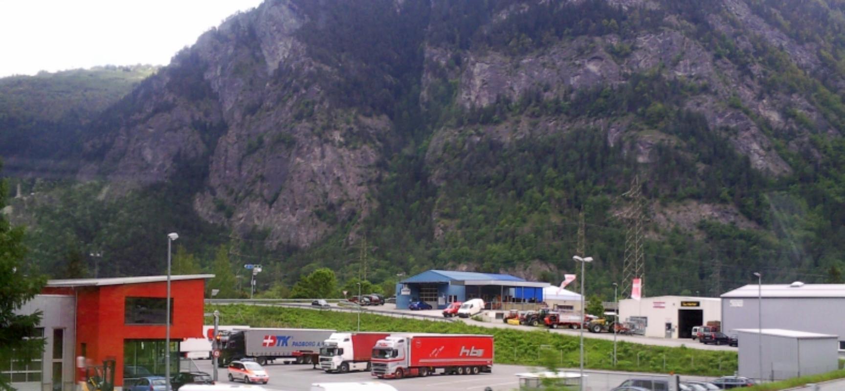 Unterrealta: Lastwagenschofför trotz Ausweisentzug unterwegs
