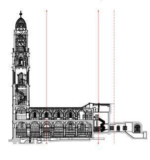 Die Firma HMQ vermaß das Großmünster in Zürich: Für einmal landete ein Auftrag im Domleschg / Graubünden anstatt immer umgekehrt (Bild: HMQ)