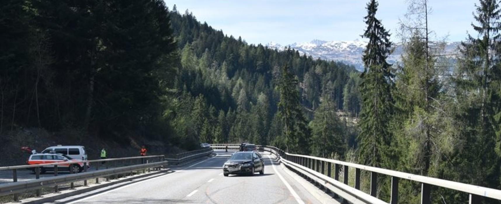 Unfall in Sils / Domleschg nach Überholmanöver: