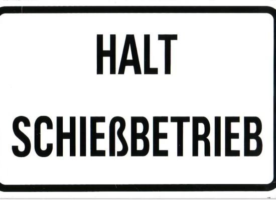 Thusis-Übernolla: Straßensperrung bis August wegen Schießbetrieb