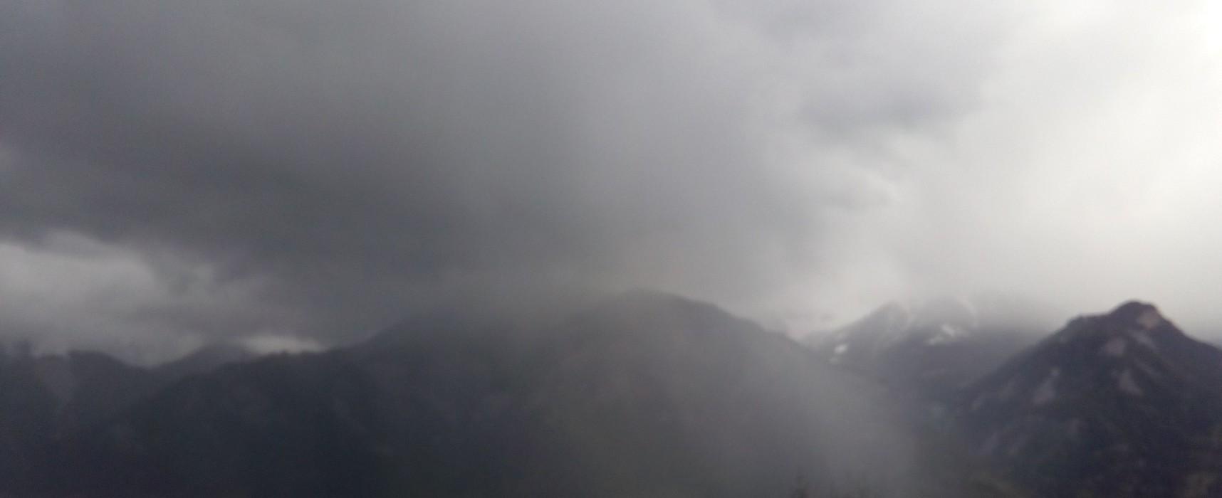 Regenwetter im Domleschg