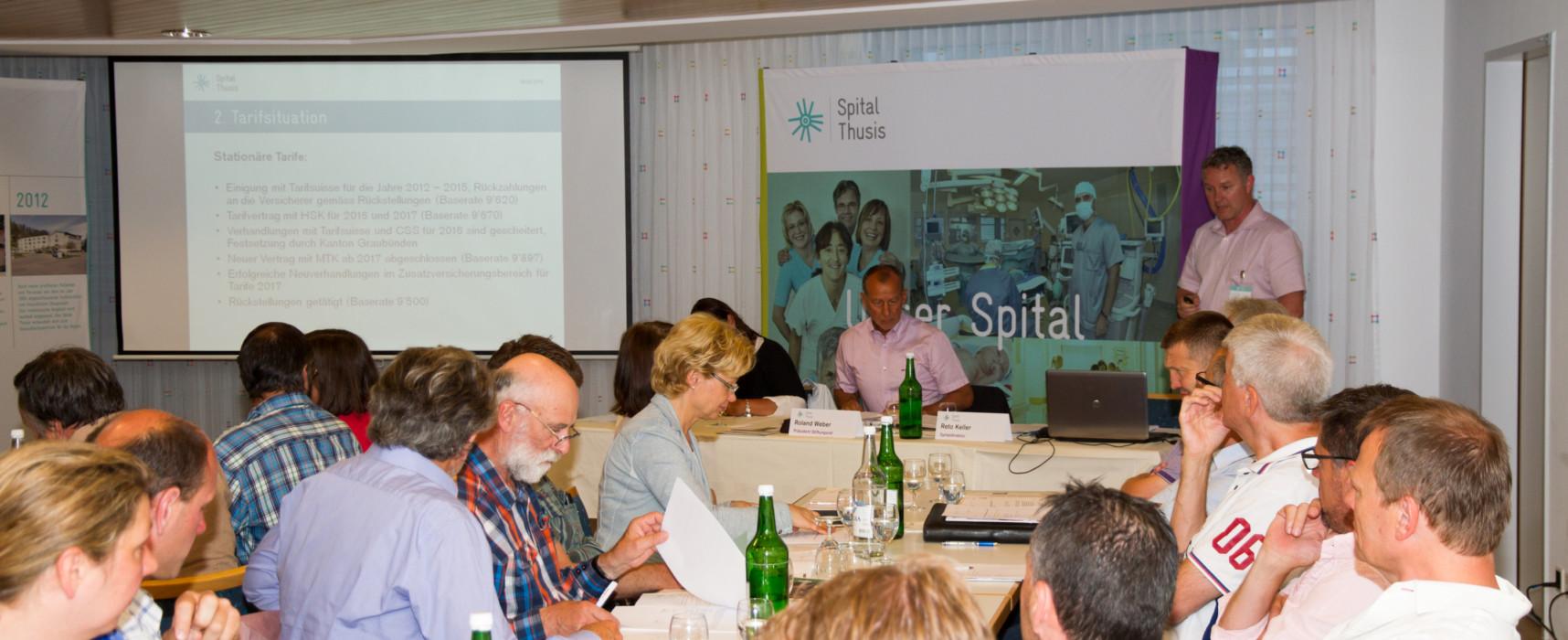 Delegiertenversammlung Spital Thusis