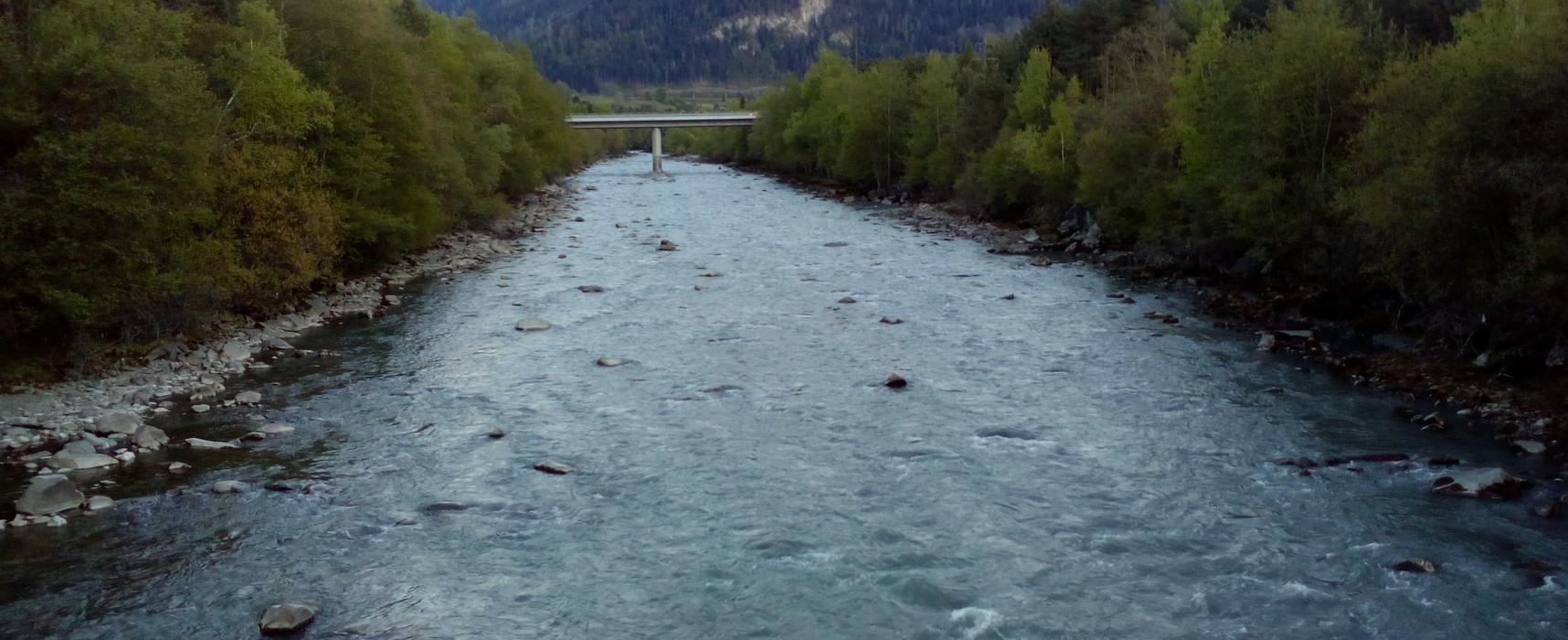 Cazis, Anschluß Rothenbrunnen / A13: