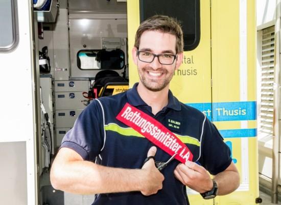 Spital Thusis gratuliert: